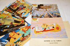 ASTERIX et les indiens  Goscinny uderzo jeu photos cinema lobby cards animation
