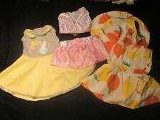 """Doll Clothes 18"""" ~ 3 Summer Outfits Dresses Hat #48"""