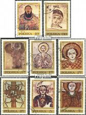 Poland 2070-2077 (compl. excl.) Stamped 1971 frescoes from faras Eur 1,70