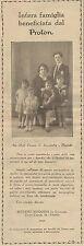 J0075 PROTON - Romano Armando di Foggia - Pubblicità del 1931 - Old advertising