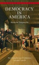 Democracy in America Vols. I-II by Alexis de Tocqueville-combined shipping