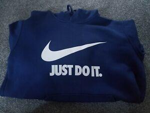 Navy Nike Hoodie Large