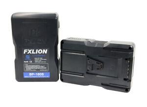 FXLION V-Mount Li-Ionen Akku BP-160S USB und D-TAP