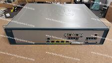 Cisco uc560-t1e1-k9 136 gli utenti con licenza + VIC2-2BRI-NT / TE unificato VoIP voce dati