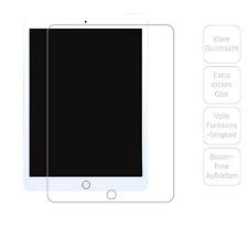 """Glasfolie für Apple iPad Pro, Air 1 & 2 mit 9,7""""-Bildschirm Extra dick & robust!"""