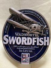 Wadworth's Swordfish Metal Pump Clip