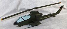 VTG VIETNAM ERA US ARMY BELL ATTACK HELICOPTER AH-1 COBRA FACTORY DESK MODEL