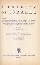 L EREDITÀ D ISRAELE a cura di I. Abrahams E. Bevan C. Singer 1960 Vallardi