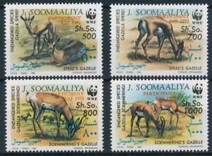 [E14074] Somalia 1992 WWF - GAZELLAS Good set of stamps very fine MNH