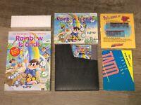Rainbow Islands Nintendo Nes Complete CIB Minty Condition Authentic