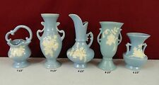 Lot of 5 Weller Vases
