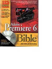 Adobe Premiere 6 Bible + CD Rom - Eng.