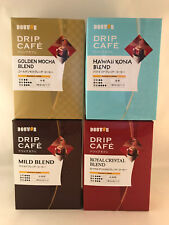 4 packs of Japanese Drip Coffee from Doutor Cafe - Mocha, Hawaii Kona, etc Blend