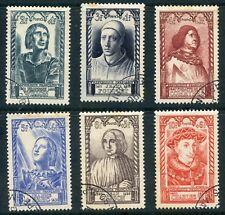 stamp / TIMBRE FRANCE OBLITERE N° 765/770 / SERIE CELEBRITE
