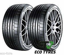 2X Tyres 255 30 ZR21 93Y XL Continental SportContact6 E A 73dB