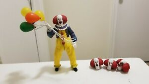 """PENNYWISE IT The Movie 1990 Neca 7"""" Action Figure Stephen King Clown"""