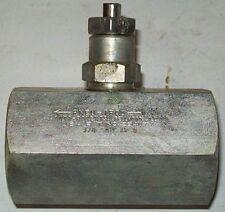 "Deltrol Pneu-trol 3/4"" Steel Needle Valve NM35S NM-35S"