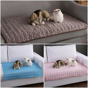 Pets Summer Cooling Mat Cold Gel Pad Comfortable Cushion Bed for Dog Cat Puppy~