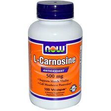 Now Foods L- Carnosine 500mg 50 cps Carnosina
