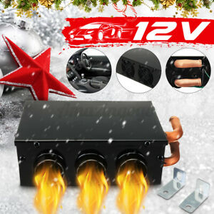 12V 3 Holes Auto Car Heater Water-heating system Heat Cooling Fan Defroster