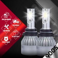 XENTEC LED HID Headlight kit 9005 HB3 White for 1993-1996 Lincoln Mark VIII