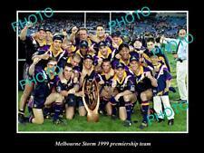 LARGE PHOTO OF THE MELBOURNE STORM 1999 PREMIERSHIP TEAM