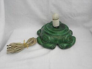 Handmade Holland/Atlantic? Mold Ceramic Christmas Tree Lighted Musical Base ONLY