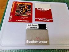 LODE RUNNER - APPLE II GAME - 1983 BRODERBUND SOFTWARE