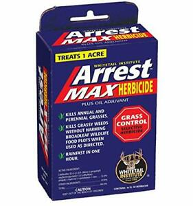 Whitetail Institute Arrest Max Selective Grass Control Herbicide Specifically...