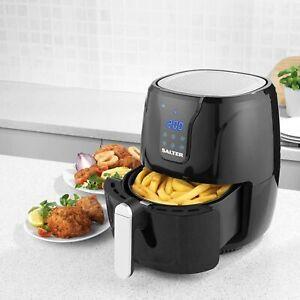Salter EK3960 Go Healthy Digital Air Fryer 4.5L Preheating Function 1300W