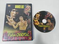 BRUCE LEE FURIA ORIENTAL DVD ESPAÑOL REGIONES 1-6 LO WEI REGION 0 ALL SAMURAI