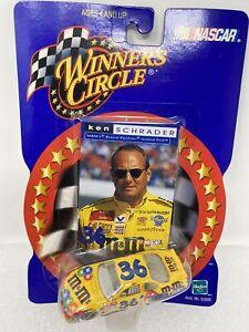 NASCAR 2000 Winners Circle #36 M&M's KEN SCHRADER 1/64 Diecast Collectible Car