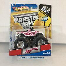 #1  Madusa #48 of 80 * Hot Wheels Monster Jam W/ Tattoo * NB11