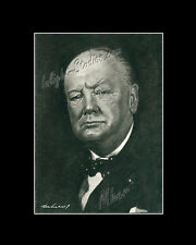 Winston Churchill politician UK drawing from artist art image picture