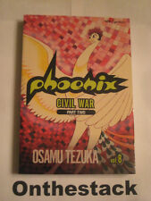 MANGA:     Phoenix Vol. 8: Civil War, Part 2 by Osamu Tezuka (2006, Paperback)