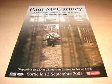 PAUL MAC CARTNEY - CHAOS/CREATION!1!FRENCH PRESS ADVERT