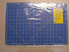 Dritz Blue Rotary Cutter Mat 12x18 Cutting For Fabric Sewing Scrapbooking Crafts