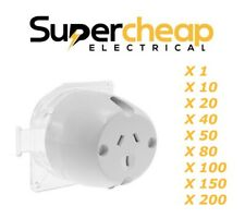 Surface Socket Plug Base 10 Amp Electrical Outlet Fan Base Sockets Downlight