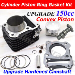 150cc Big Bore Cylinder Camshaft Piston For Suzuki GN125 EN125 GS125 GZ125 DR125