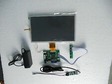 "10"" inch LCD monitor VGA/HDMI/AV + USB resistive touch screen for Raspberry Pi"
