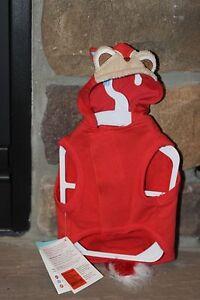 MARTHA STEWART PETS MS Fox Hoodie -Small- CUTE!! Dog Clothing Free Shipping