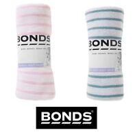 NWT Bonds Baby Boys Boy Striped White Green Stretchy Chesty BYJKG RRP $9.99