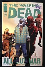 IMAGE COMICS THE WALKING DEAD #123 1ST PRINT SIGNED BY CHARLIE ADLARD