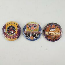 Wincraft Vintage NBA Licensed Pins Rapters Knicks Suns Made in USA