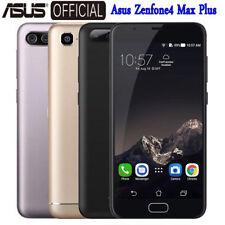 "Touch ID 5.5"" ASUS Zenfone 4 MAX PLUS 4G Telefono 3+32GB Cellulari Android 8Core"