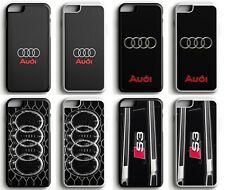 Audi alemán de línea S coche de goma con el logotipo S3 Sport Funda Para iPhone 5 6 7 11 8 X