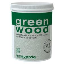 LINVEA GREEN WOOD VERNICE PER LEGNO PARQUET A BASE ACQUA 0,75 LT.