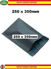 40 Bolsas de plástico mensajeria degradable 250x350mm envios paquetes correo