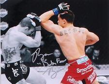 JOSH SAMPO vs RYAN BENOIT SIGNED BABY FACE UFC 2013 FIGHT FINALE 8x10 w/JSA COA