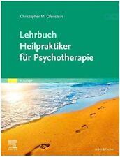 LEHRBUCH HEILPRAKTIKER FÜR PSYCHOTHERAPIE, Ofenstein, NEU/OVP